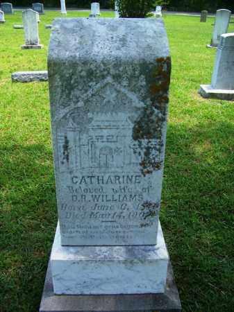 WILLIAMS, CATHARINE - Grant County, Arkansas | CATHARINE WILLIAMS - Arkansas Gravestone Photos