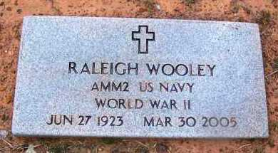 WOOLEY (VETERAN WWII), RALEIGH - Grant County, Arkansas | RALEIGH WOOLEY (VETERAN WWII) - Arkansas Gravestone Photos