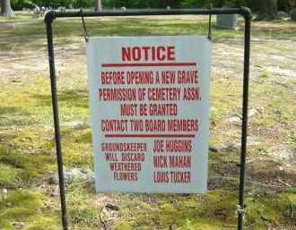 *PALESTINE JONES CEMETERY SIGN,  - Grant County, Arkansas |  *PALESTINE JONES CEMETERY SIGN - Arkansas Gravestone Photos