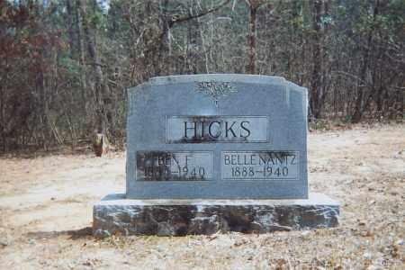 HICKS, BELLE - Grant County, Arkansas | BELLE HICKS - Arkansas Gravestone Photos