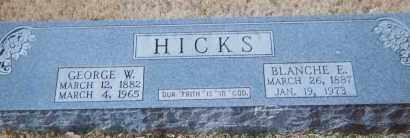 HICKS, GEORGE - Grant County, Arkansas | GEORGE HICKS - Arkansas Gravestone Photos