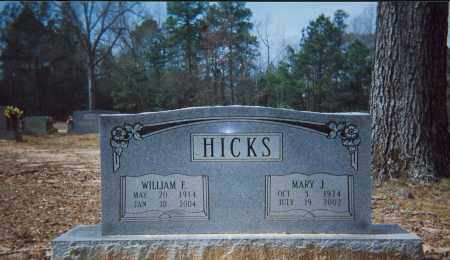 HICKS, MARY J. - Grant County, Arkansas | MARY J. HICKS - Arkansas Gravestone Photos