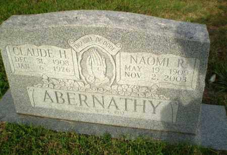 ABERNATHY, CLAUDE H - Greene County, Arkansas | CLAUDE H ABERNATHY - Arkansas Gravestone Photos