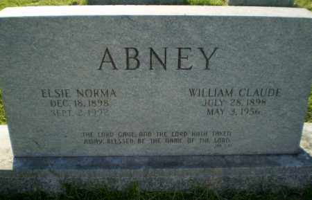 ABNEY, WILLIAM CLAUDE - Greene County, Arkansas | WILLIAM CLAUDE ABNEY - Arkansas Gravestone Photos