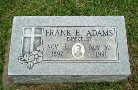 ADAMS, FRANK E - Greene County, Arkansas | FRANK E ADAMS - Arkansas Gravestone Photos