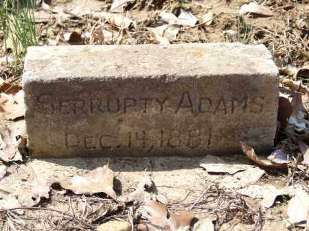 ADAMS, SERRUPTY - Greene County, Arkansas | SERRUPTY ADAMS - Arkansas Gravestone Photos