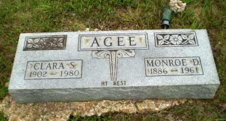 AGEE, MONROE D. - Greene County, Arkansas | MONROE D. AGEE - Arkansas Gravestone Photos