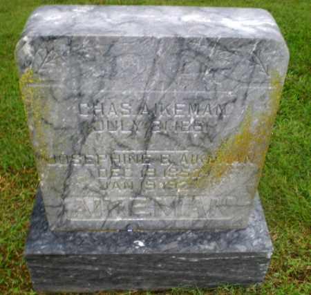 AIKEMAN, CHAS - Greene County, Arkansas | CHAS AIKEMAN - Arkansas Gravestone Photos