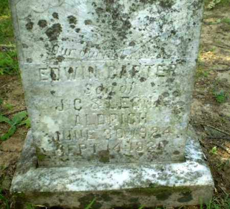 ALDRICH, EDWIN CARTER - Greene County, Arkansas | EDWIN CARTER ALDRICH - Arkansas Gravestone Photos