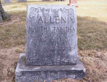 STONE ALLEN, MARTHA TABITHA - Greene County, Arkansas | MARTHA TABITHA STONE ALLEN - Arkansas Gravestone Photos