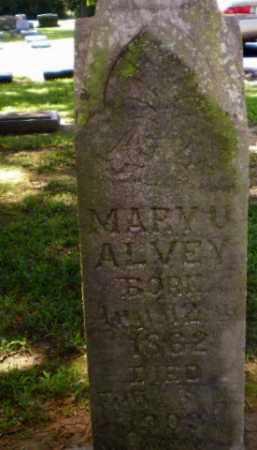 ALVEY, MARY U - Greene County, Arkansas   MARY U ALVEY - Arkansas Gravestone Photos