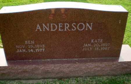 ANDERSON, BEN - Greene County, Arkansas | BEN ANDERSON - Arkansas Gravestone Photos