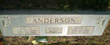ANDERSON, JOE C - Greene County, Arkansas | JOE C ANDERSON - Arkansas Gravestone Photos