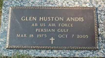 ANDIS (VETERAN PGW), GLEN HUSTON - Greene County, Arkansas | GLEN HUSTON ANDIS (VETERAN PGW) - Arkansas Gravestone Photos