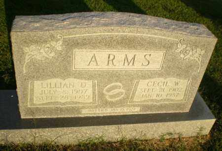 ARMS, LILLIAN D - Greene County, Arkansas | LILLIAN D ARMS - Arkansas Gravestone Photos