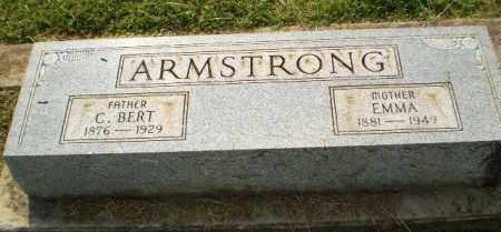 ARMSTRONG, C. BERT - Greene County, Arkansas | C. BERT ARMSTRONG - Arkansas Gravestone Photos