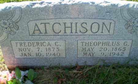 ATCHINSON, THEOPHILUS G - Greene County, Arkansas | THEOPHILUS G ATCHINSON - Arkansas Gravestone Photos