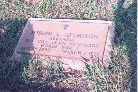 ATCHISON (VETERAN WWI), JOSEPH L. - Greene County, Arkansas   JOSEPH L. ATCHISON (VETERAN WWI) - Arkansas Gravestone Photos