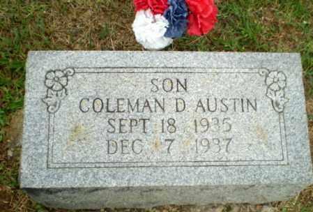 AUSTIN, COLEMAN D - Greene County, Arkansas   COLEMAN D AUSTIN - Arkansas Gravestone Photos