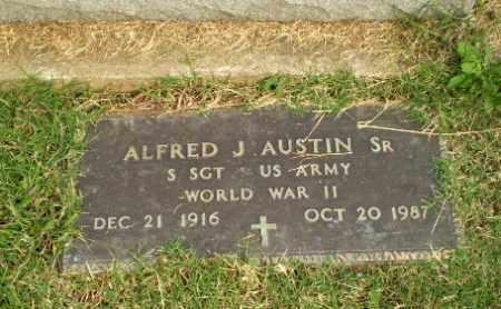AUSTIN, SR  (VETERAN WWII), ALFRED J - Greene County, Arkansas | ALFRED J AUSTIN, SR  (VETERAN WWII) - Arkansas Gravestone Photos