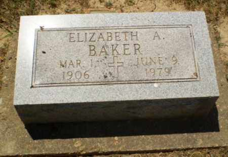 BAKER, ELIZABETH A - Greene County, Arkansas   ELIZABETH A BAKER - Arkansas Gravestone Photos