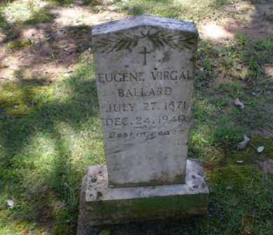 BALLARD, EUGENE VIRGAL - Greene County, Arkansas | EUGENE VIRGAL BALLARD - Arkansas Gravestone Photos
