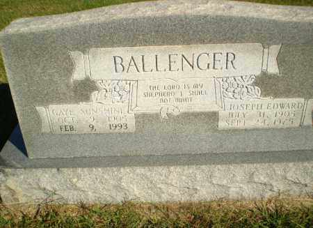 BALLENGER, GAYE SUNSHINE - Greene County, Arkansas | GAYE SUNSHINE BALLENGER - Arkansas Gravestone Photos