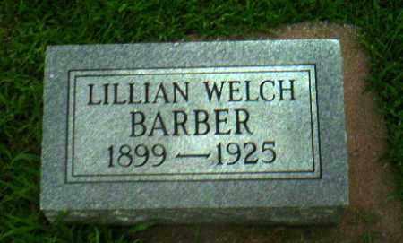WELCH  BARBER, LILLIAN - Greene County, Arkansas | LILLIAN WELCH  BARBER - Arkansas Gravestone Photos