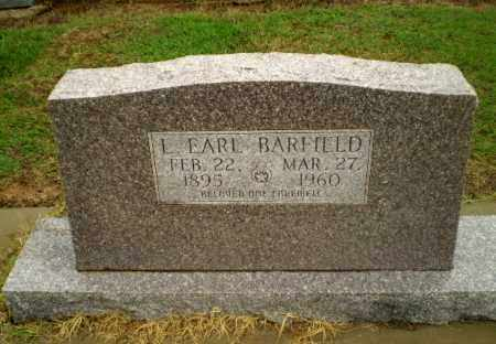BARFIELD, L. EARL - Greene County, Arkansas | L. EARL BARFIELD - Arkansas Gravestone Photos
