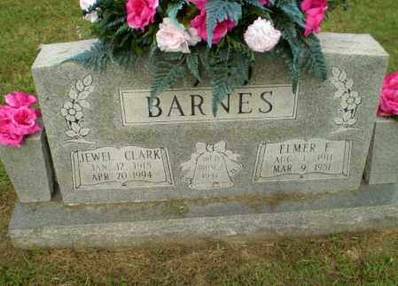 BARNES, ELMER F - Greene County, Arkansas | ELMER F BARNES - Arkansas Gravestone Photos
