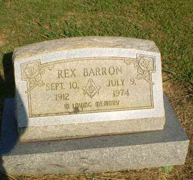 BARRON, REX - Greene County, Arkansas | REX BARRON - Arkansas Gravestone Photos