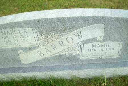 BARROW, MAMIE - Greene County, Arkansas   MAMIE BARROW - Arkansas Gravestone Photos