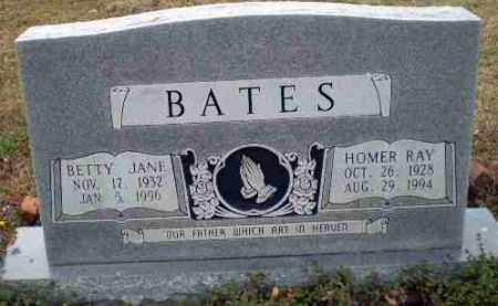 BATES, HOMER RAY - Greene County, Arkansas | HOMER RAY BATES - Arkansas Gravestone Photos