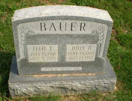 BAUER, EFFIE E - Greene County, Arkansas | EFFIE E BAUER - Arkansas Gravestone Photos