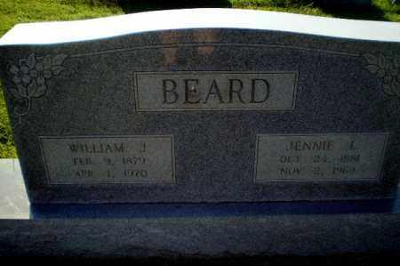 BEARD, WILLIAM J - Greene County, Arkansas | WILLIAM J BEARD - Arkansas Gravestone Photos