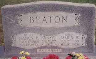 BEATON, NANCY P - Greene County, Arkansas   NANCY P BEATON - Arkansas Gravestone Photos