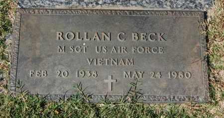 BECK (VETERAN VIET), ROLLAN C - Greene County, Arkansas   ROLLAN C BECK (VETERAN VIET) - Arkansas Gravestone Photos