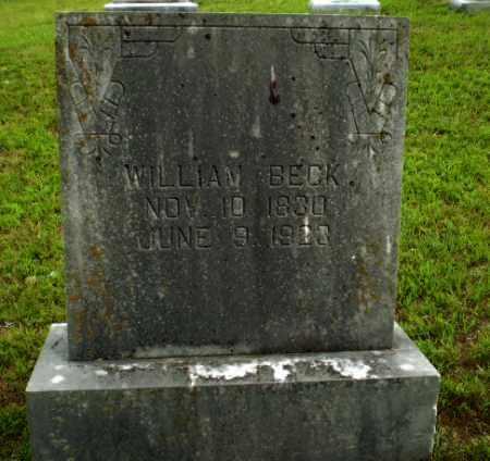 BECK, WILLIAM - Greene County, Arkansas   WILLIAM BECK - Arkansas Gravestone Photos