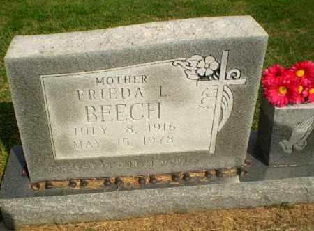 BEECH, FRIEDA L - Greene County, Arkansas | FRIEDA L BEECH - Arkansas Gravestone Photos