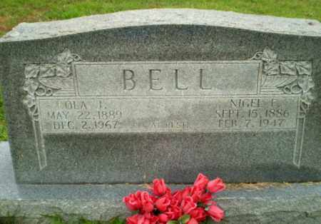 BELL, NIGEL F - Greene County, Arkansas | NIGEL F BELL - Arkansas Gravestone Photos