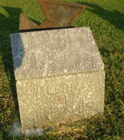 BELL, VALERIA A - Greene County, Arkansas   VALERIA A BELL - Arkansas Gravestone Photos