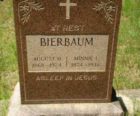 BIERBAUM, MINNIE L - Greene County, Arkansas | MINNIE L BIERBAUM - Arkansas Gravestone Photos