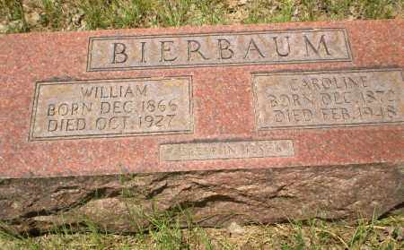 BIERBAUM, WILLIAM - Greene County, Arkansas | WILLIAM BIERBAUM - Arkansas Gravestone Photos