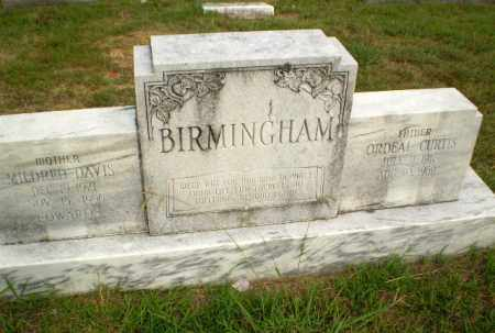 BIRMINGHAM, ORDEAL CURTIS - Greene County, Arkansas | ORDEAL CURTIS BIRMINGHAM - Arkansas Gravestone Photos