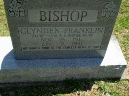 BISHOP, GLYNDEN FRANKLIN - Greene County, Arkansas | GLYNDEN FRANKLIN BISHOP - Arkansas Gravestone Photos