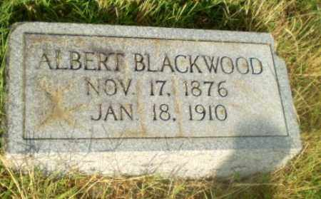 BLACKWOOD, ALBERT - Greene County, Arkansas | ALBERT BLACKWOOD - Arkansas Gravestone Photos