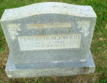 BLACKWOOD, GENDIE - Greene County, Arkansas | GENDIE BLACKWOOD - Arkansas Gravestone Photos
