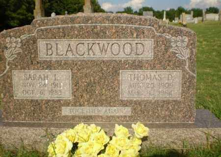 BLACKWOOD, THOMAS D - Greene County, Arkansas   THOMAS D BLACKWOOD - Arkansas Gravestone Photos
