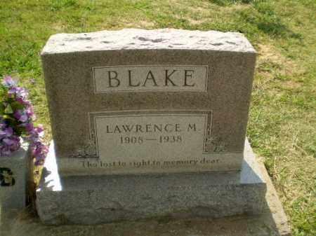 BLAKE, LAWRENCE M - Greene County, Arkansas   LAWRENCE M BLAKE - Arkansas Gravestone Photos