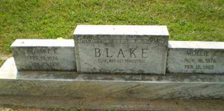BLAKE, MOLLIE B - Greene County, Arkansas | MOLLIE B BLAKE - Arkansas Gravestone Photos